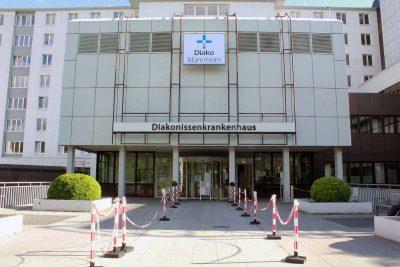 Diako Mannheim Haupteingang